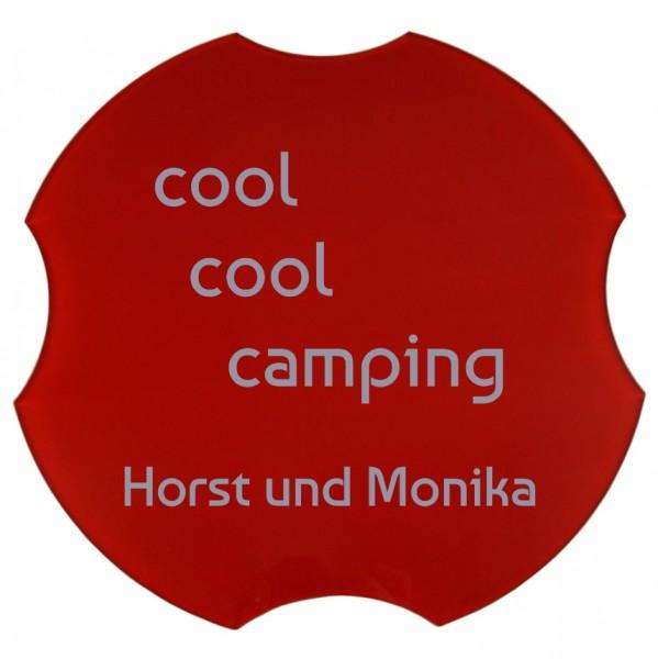 Spülbeckenabdeckung, cool cool camping, Ø 30,8 cm