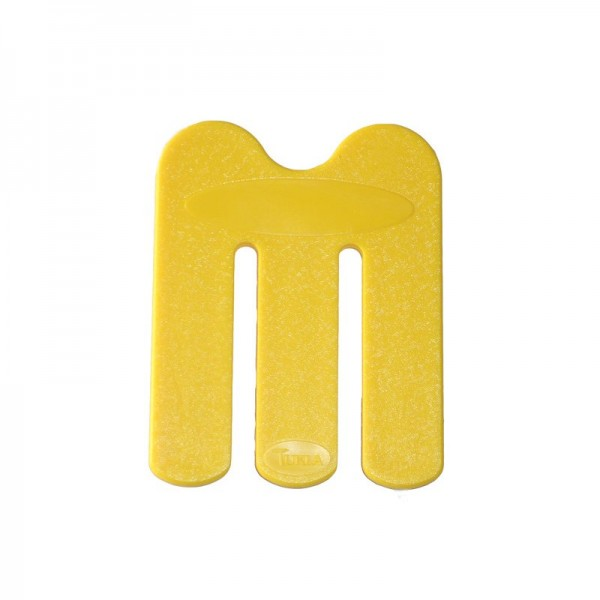 Handtuchklammer (TUKLA), gelb